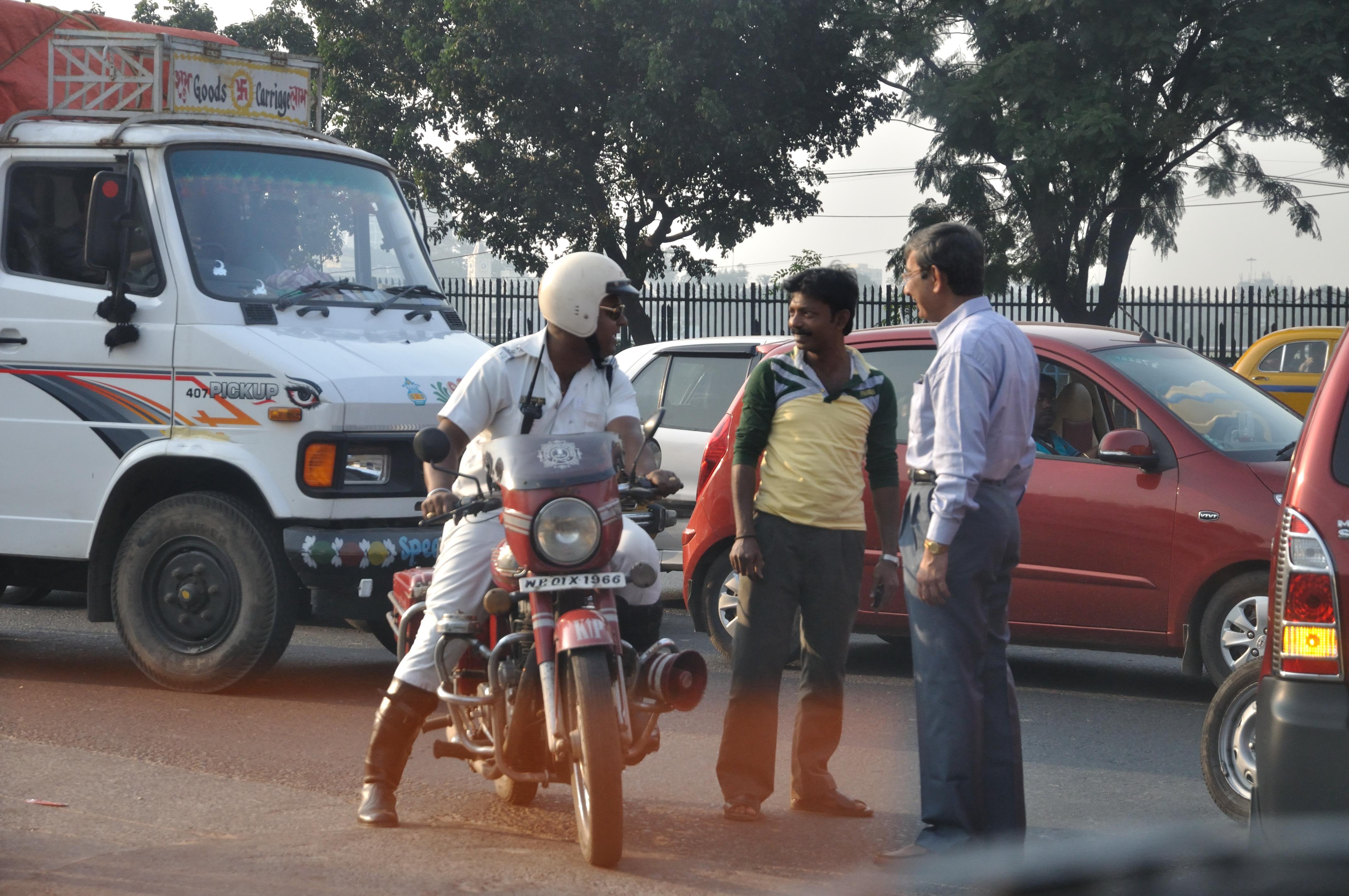 Kolkata Traffic Police Photos  Dolcetti Gelato Menu Image