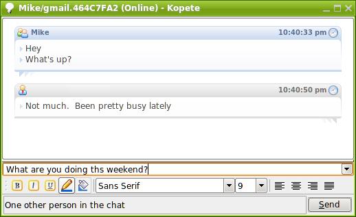 Wat te praten over online dating chat