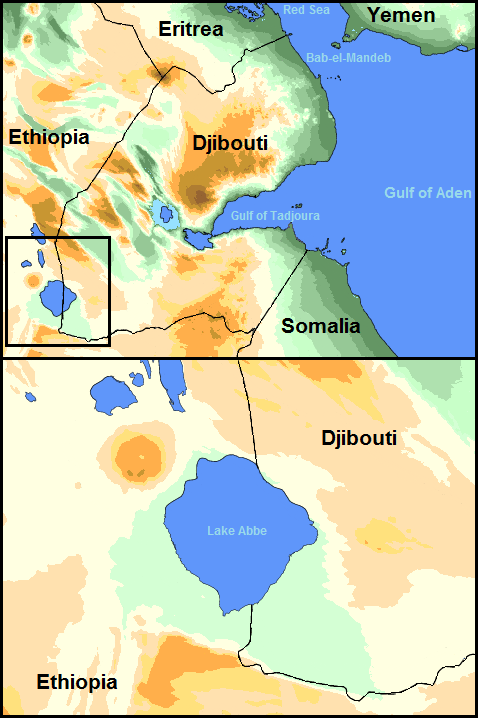 Lake Abbe - Wikipedia Yemen Map Of Lakes on yemen physical features, yemen mountains, yemen sports,