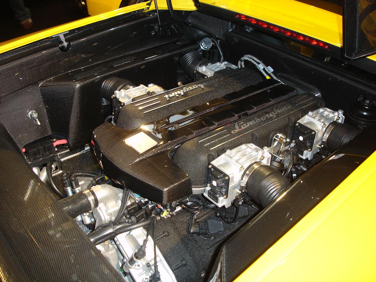 мотор lamborghini
