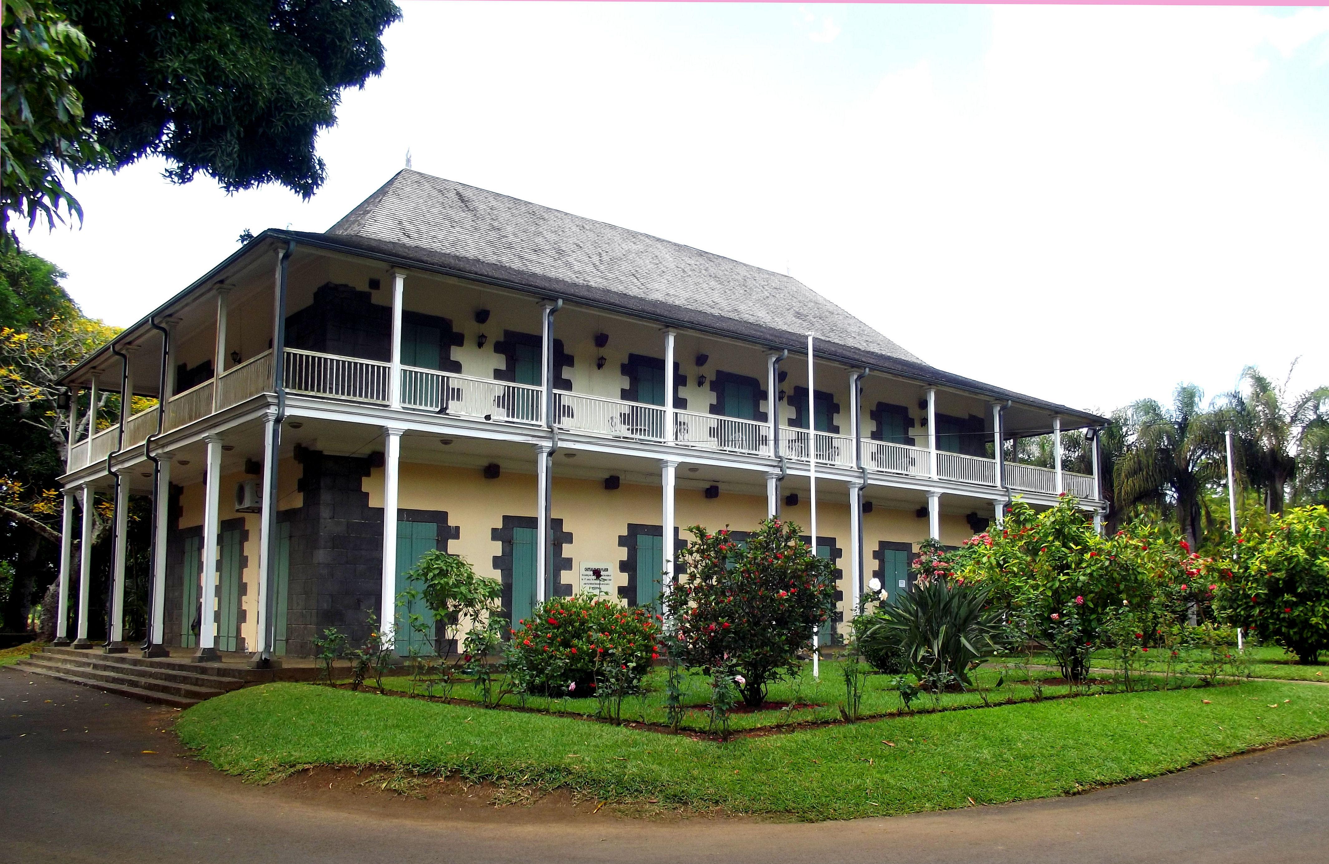Backyard of Eureka house