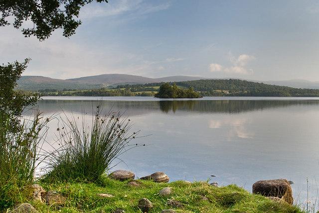 Loch Kinord - geograph.org.uk - 903441