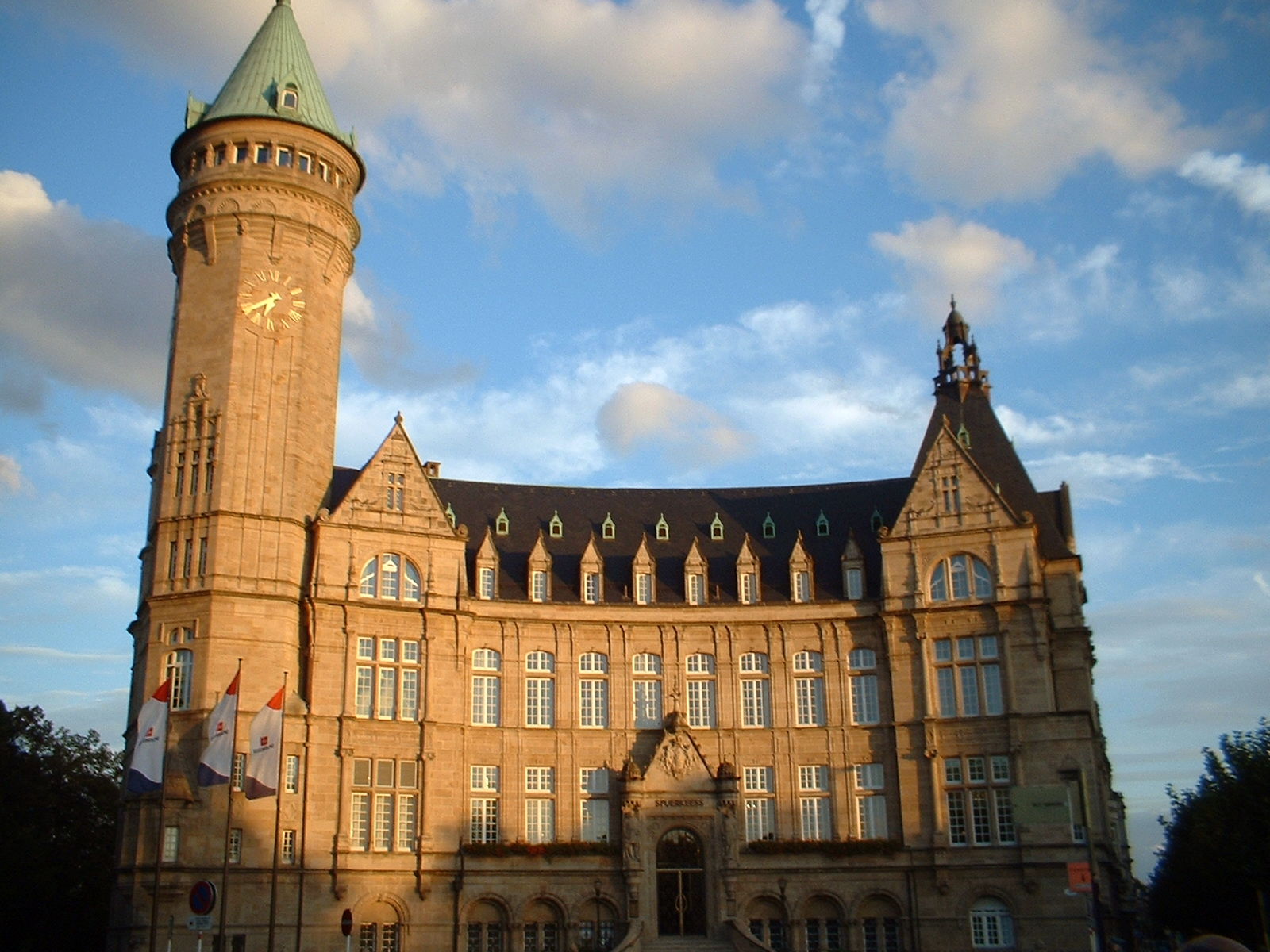 Nella foto: sede dell'Alta autorità della CECA a Città del Lussemburgo