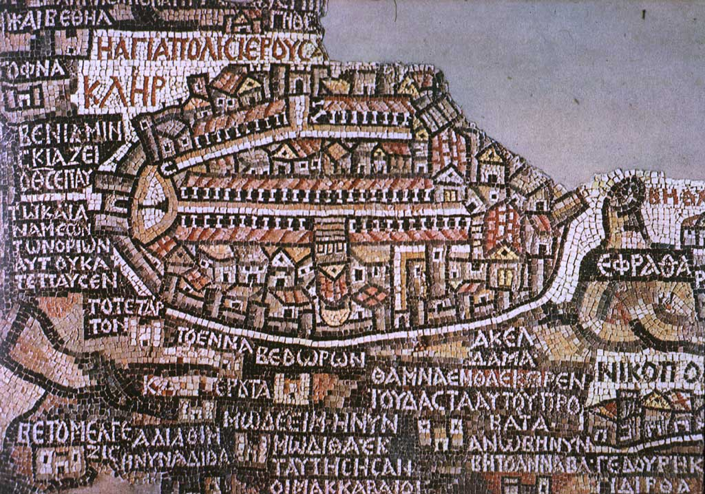 Madaba Map Wikipedia