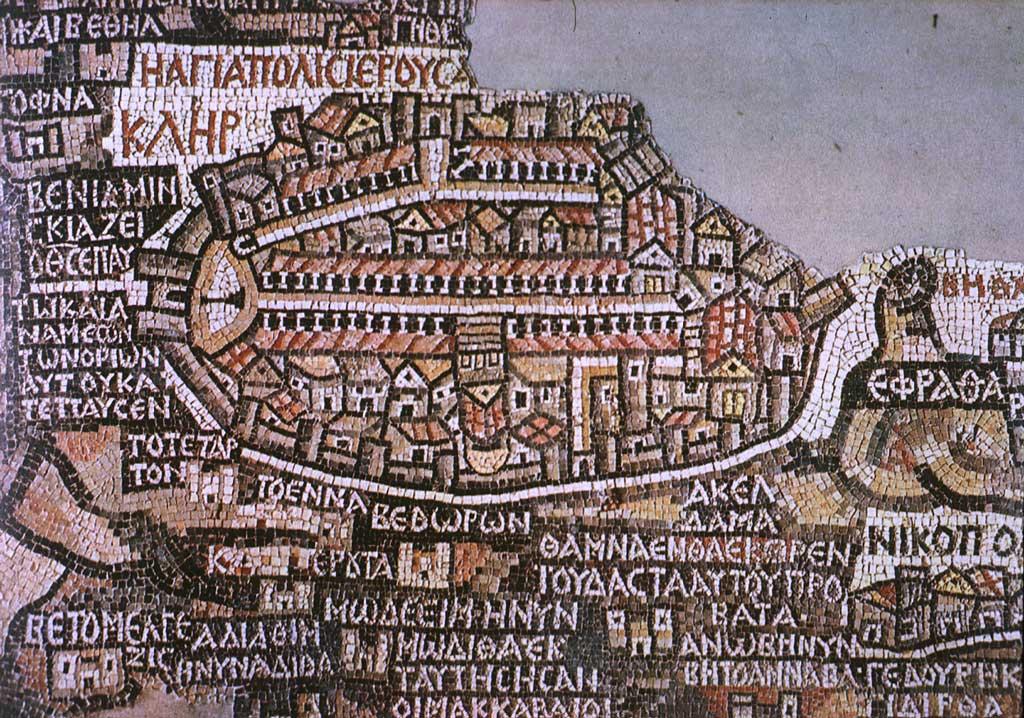 Madaba in the past, History of Madaba