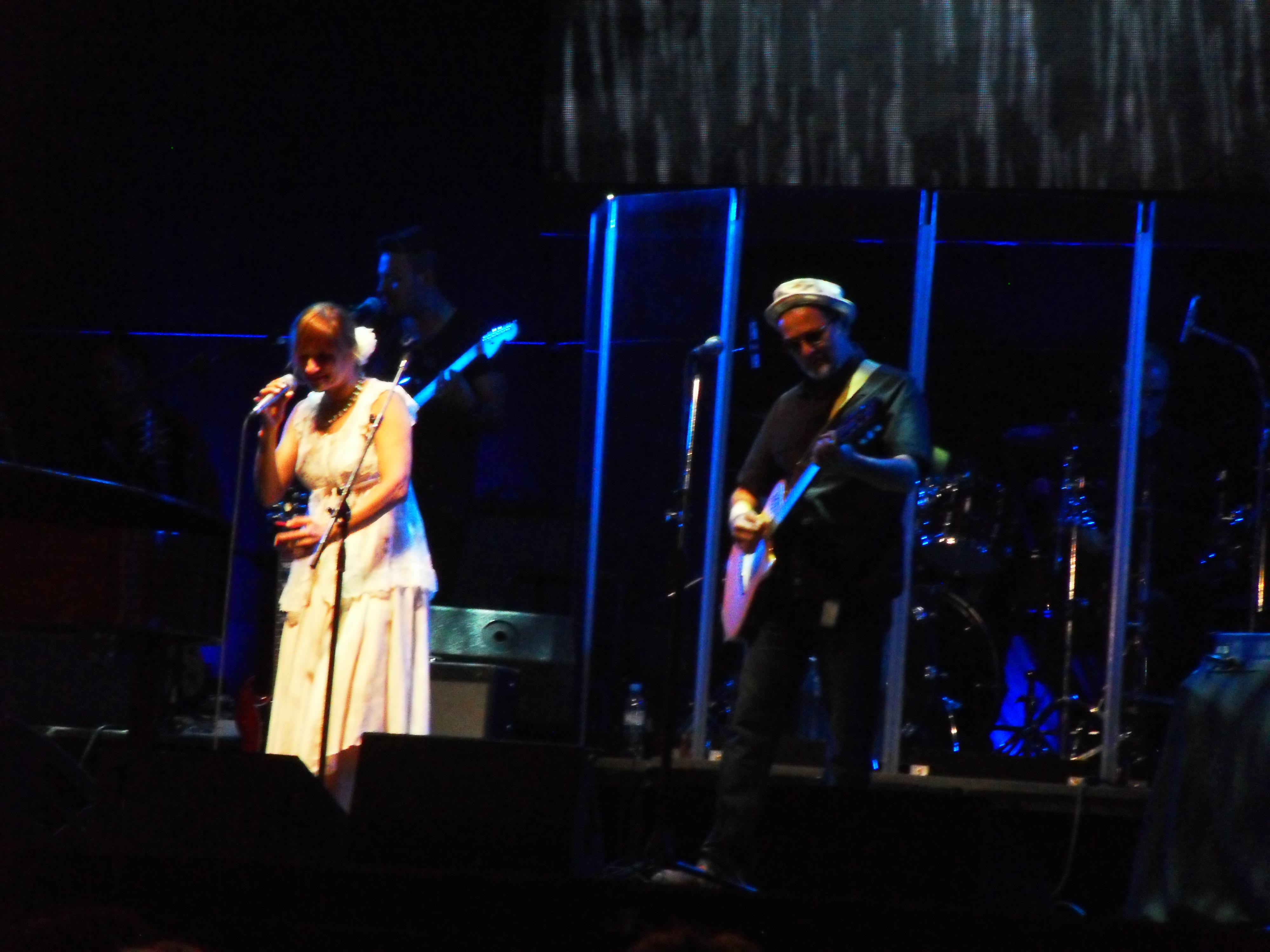 Man Ray en concierto
