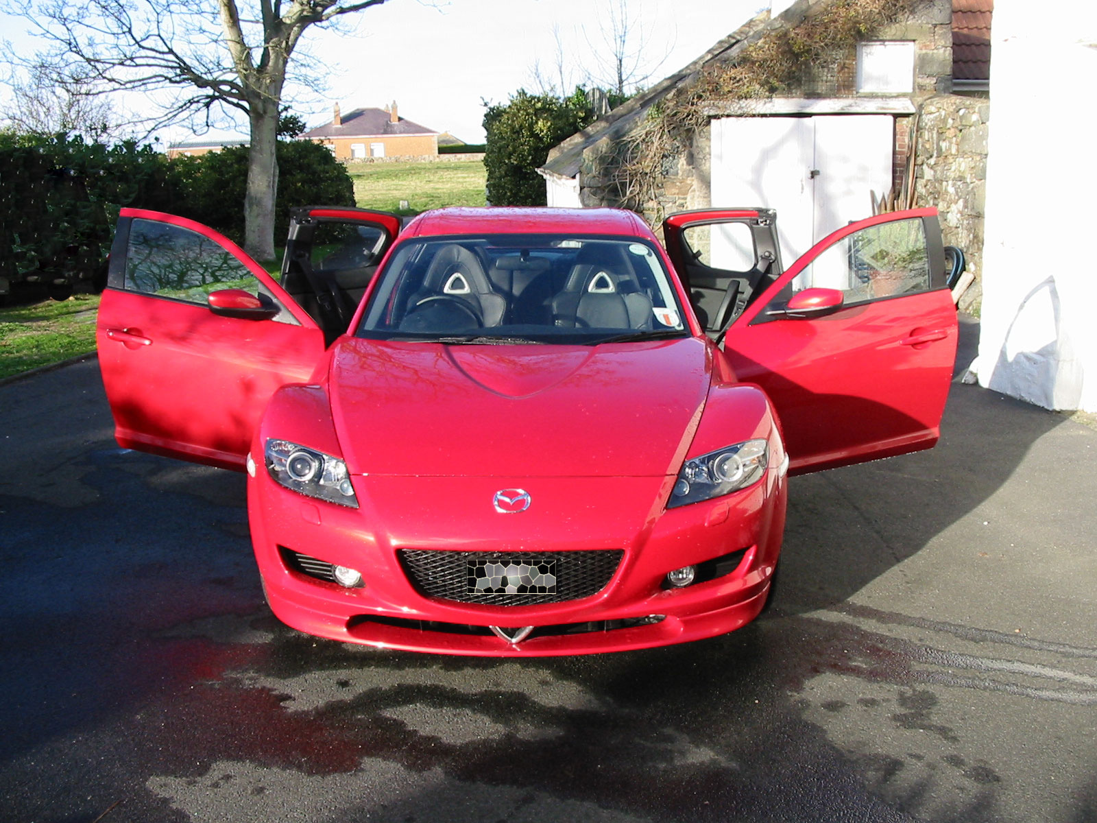 File Mazda Rx 8 Front View With Doors Open Jpg Wikimedia