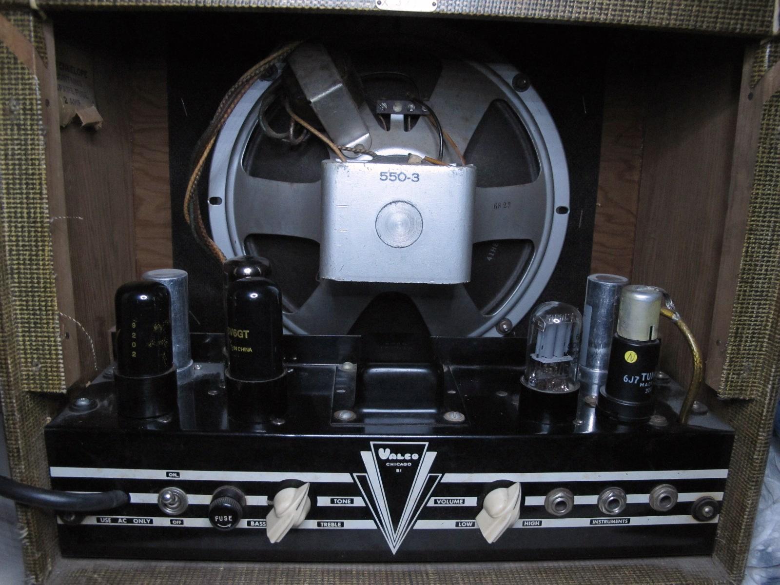 FileMcKinney Valco Guitar Amp Back C1940s