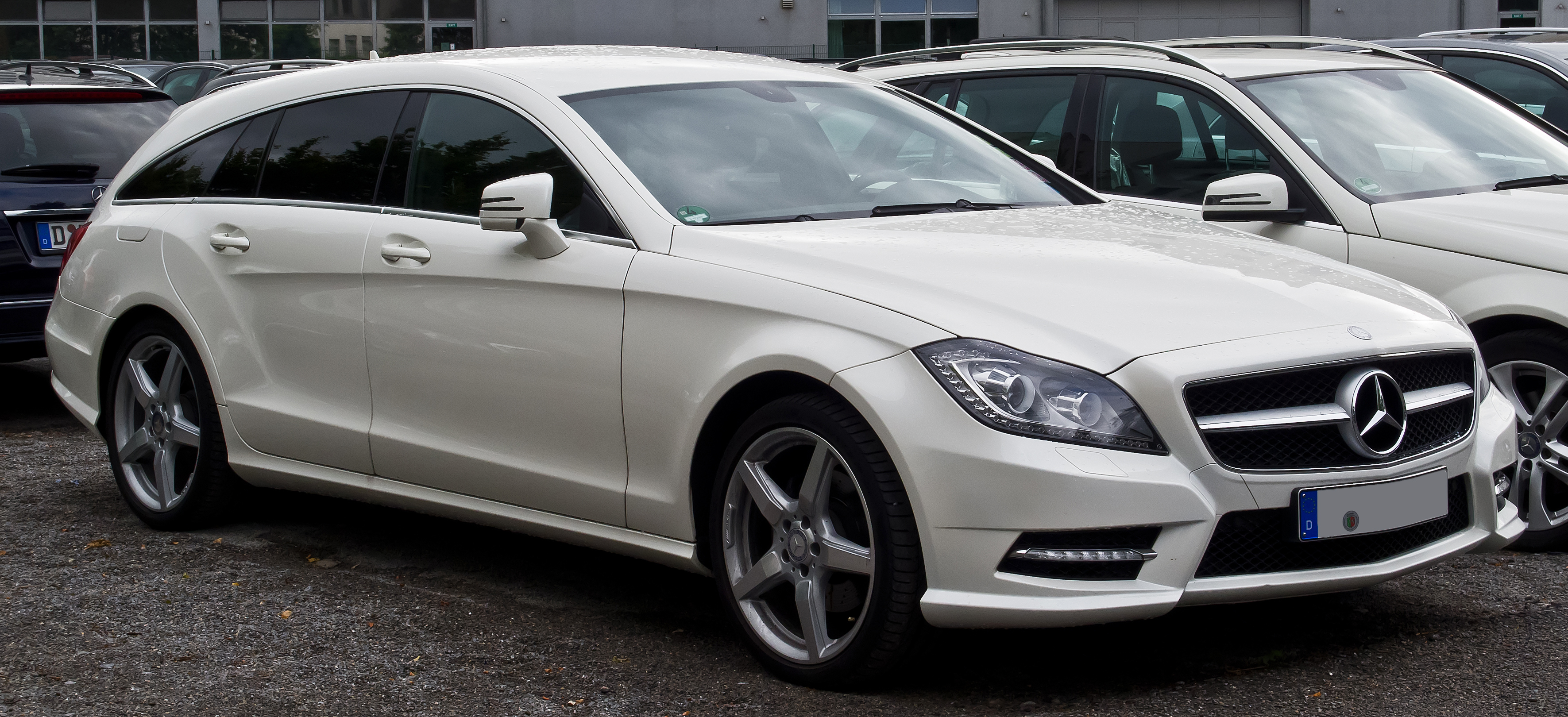 File mercedes benz cls 350 cdi shooting brake sport paket for Mercedes benz cla 350