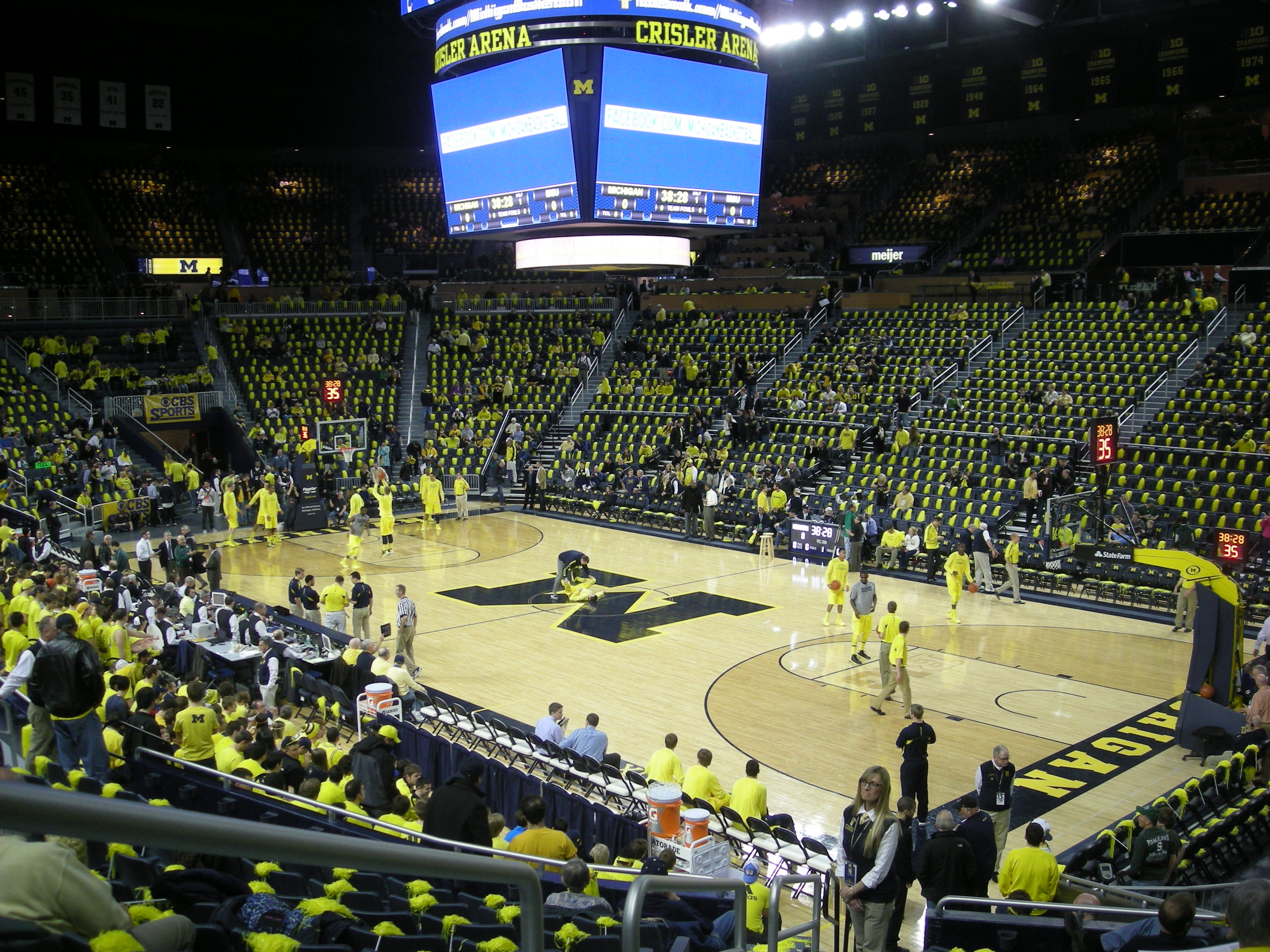 Image result for crisler arena