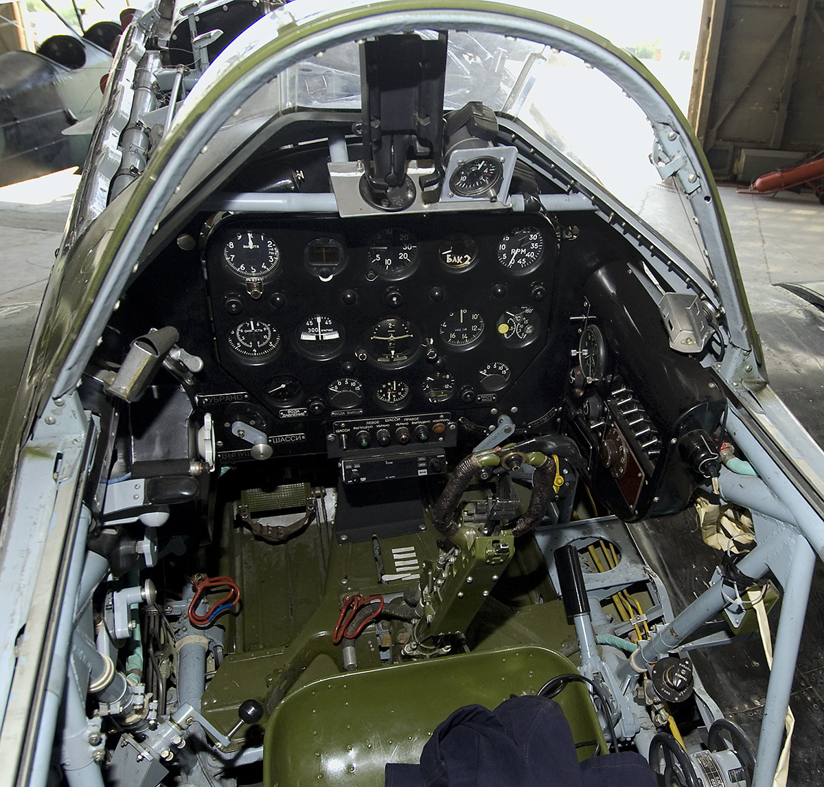 File:Mig-3(65).Cockpit (6049529601).jpg - Wikimedia Commons