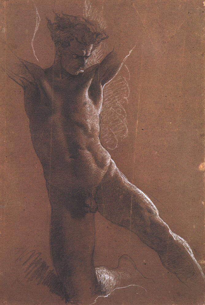 Erotic drawing demons