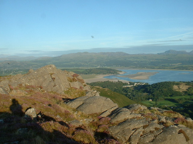 Moel y Gest ridge - geograph.org.uk - 45672