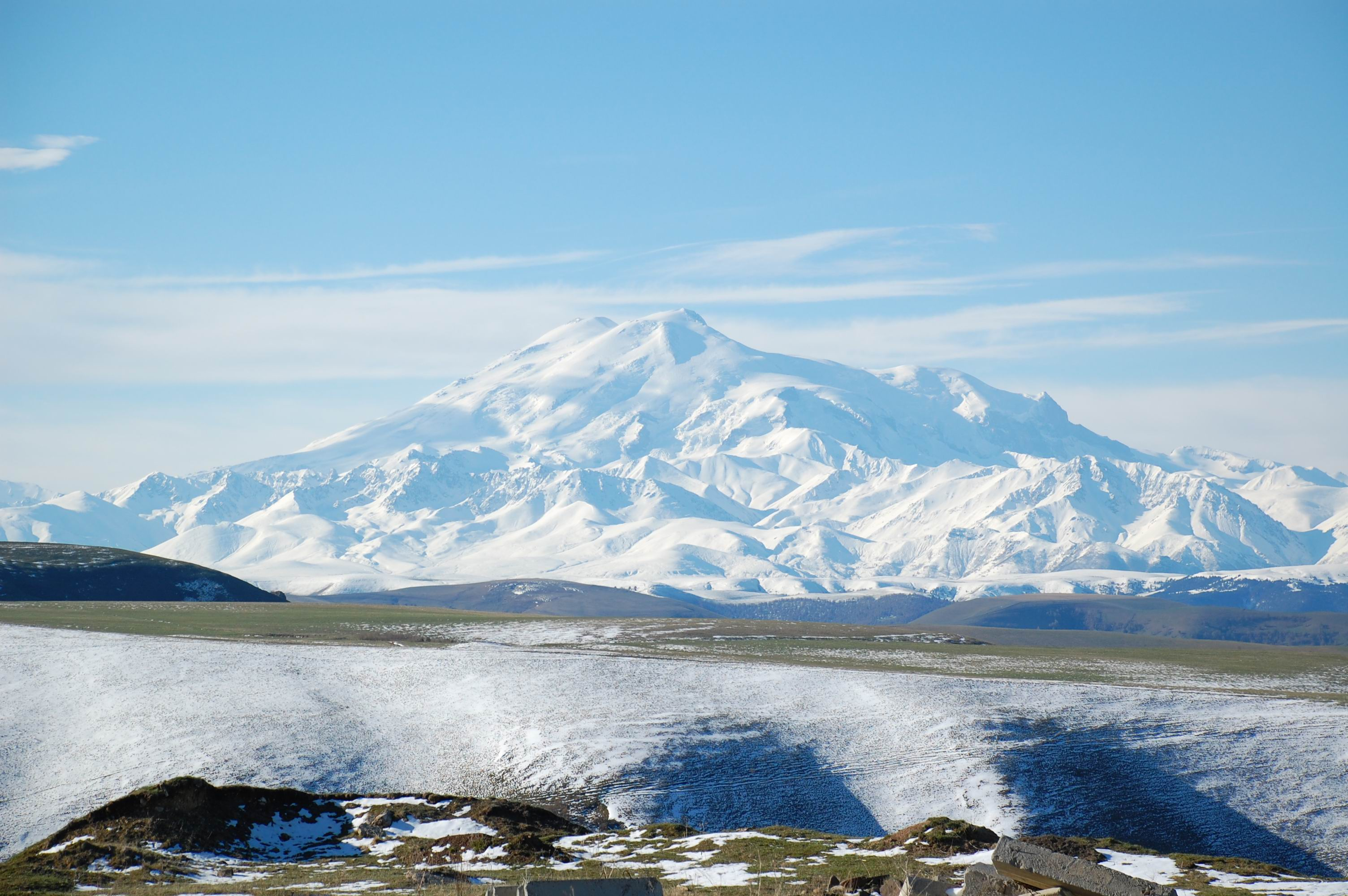 Mount Elbrus (May 2008)