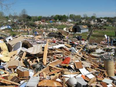 EF-4 Damage in Murfreesboro, TN
