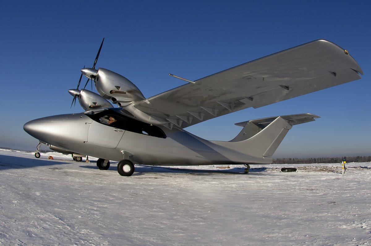 New Russian Aircraft 75