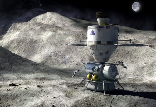 File:Orion Manned asteroid landing.jpg - Wikimedia Commons