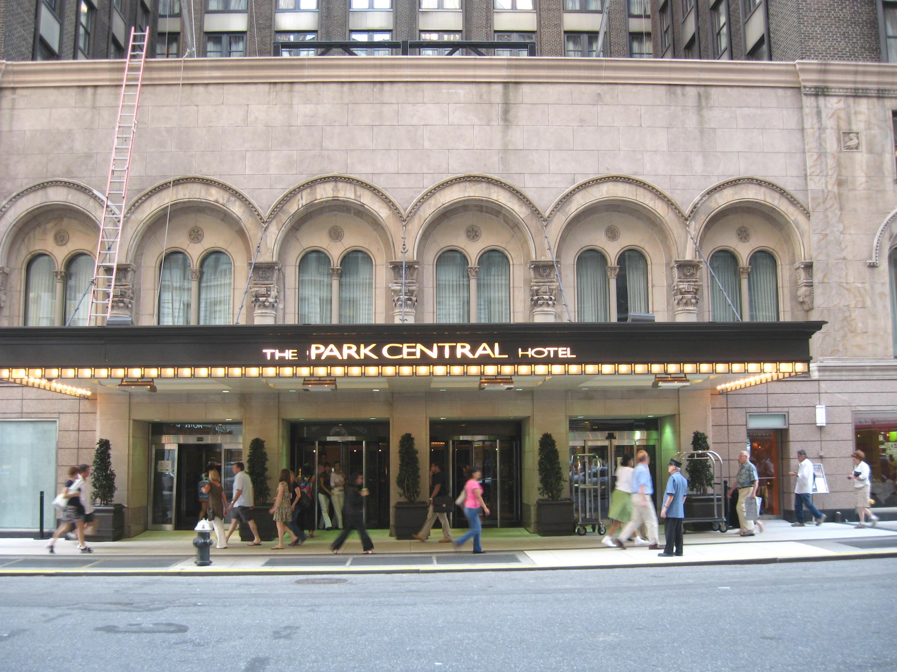 Park Central Hotel Nyc Address