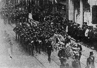 Paul Eyschen funeral cortege