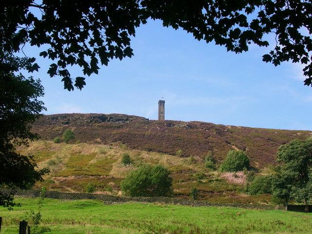 Peel Tower on Holcombe Moor - geograph.org.uk - 260529