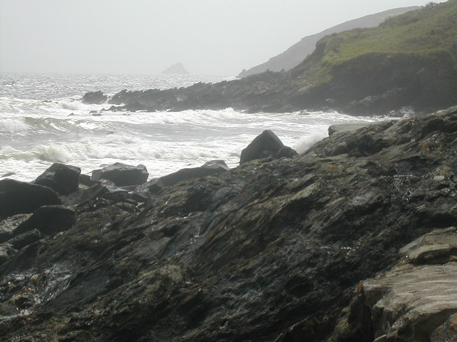 File:Perbargus Point West Portholland - geograph.org.uk - 514754.jpg