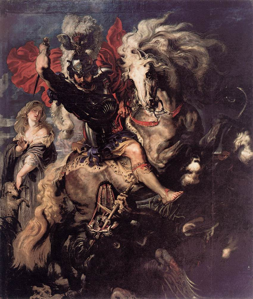 file peter paul rubens st george fighting the dragon wga20186