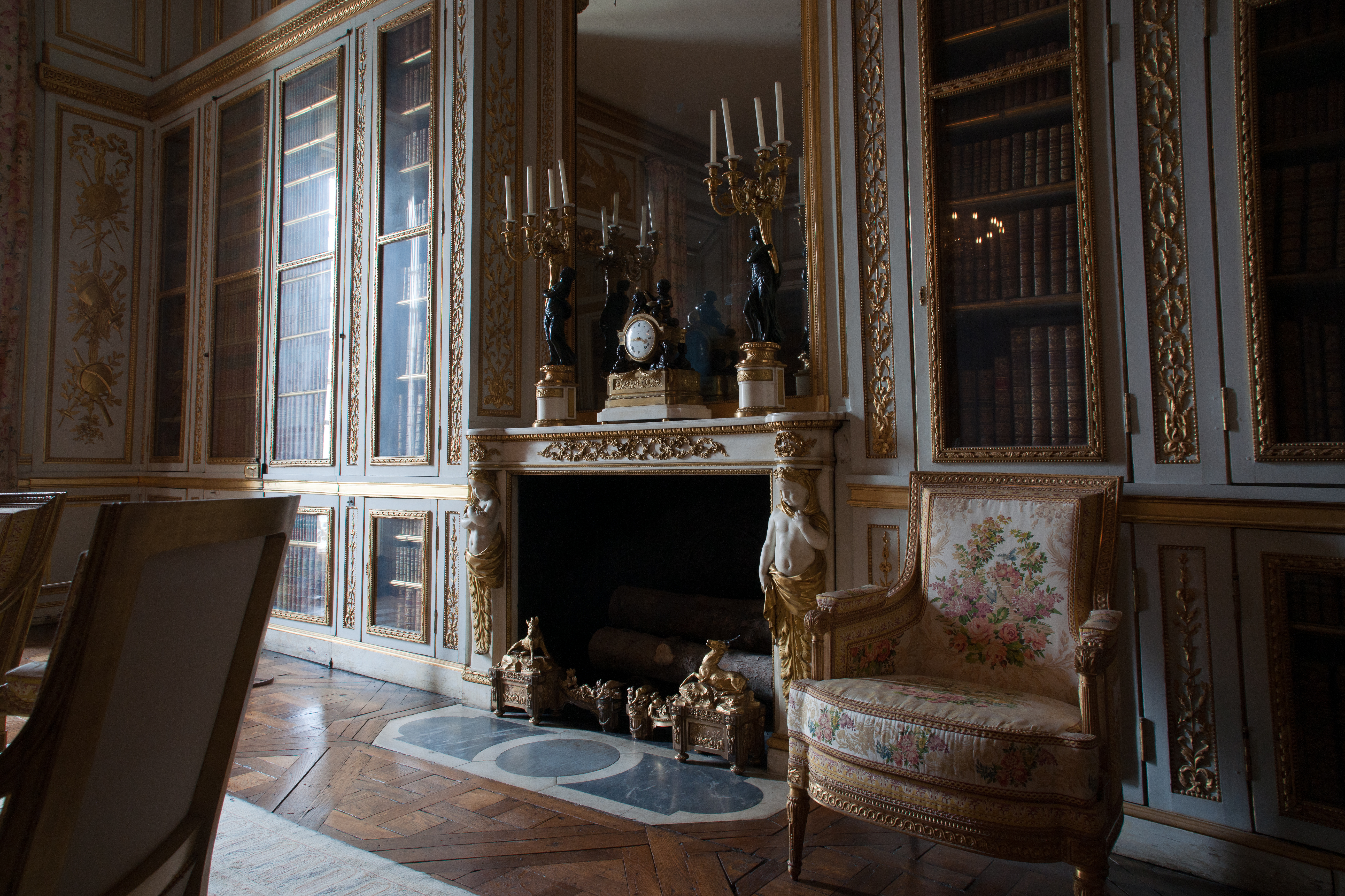 File petit appartement du roi biblioth que de louis xvi for Chambre louis xvi versailles