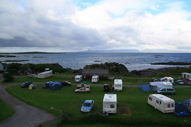 File:Portnadoran Campsite, Arisaig - geograph.org.uk - 510355.jpg