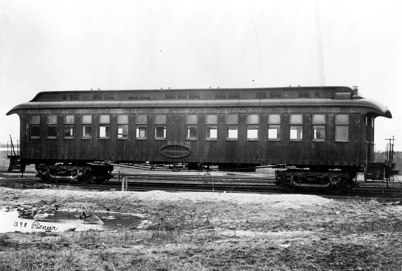 Pullmanwagen Ende des 19. Jahrhunderts