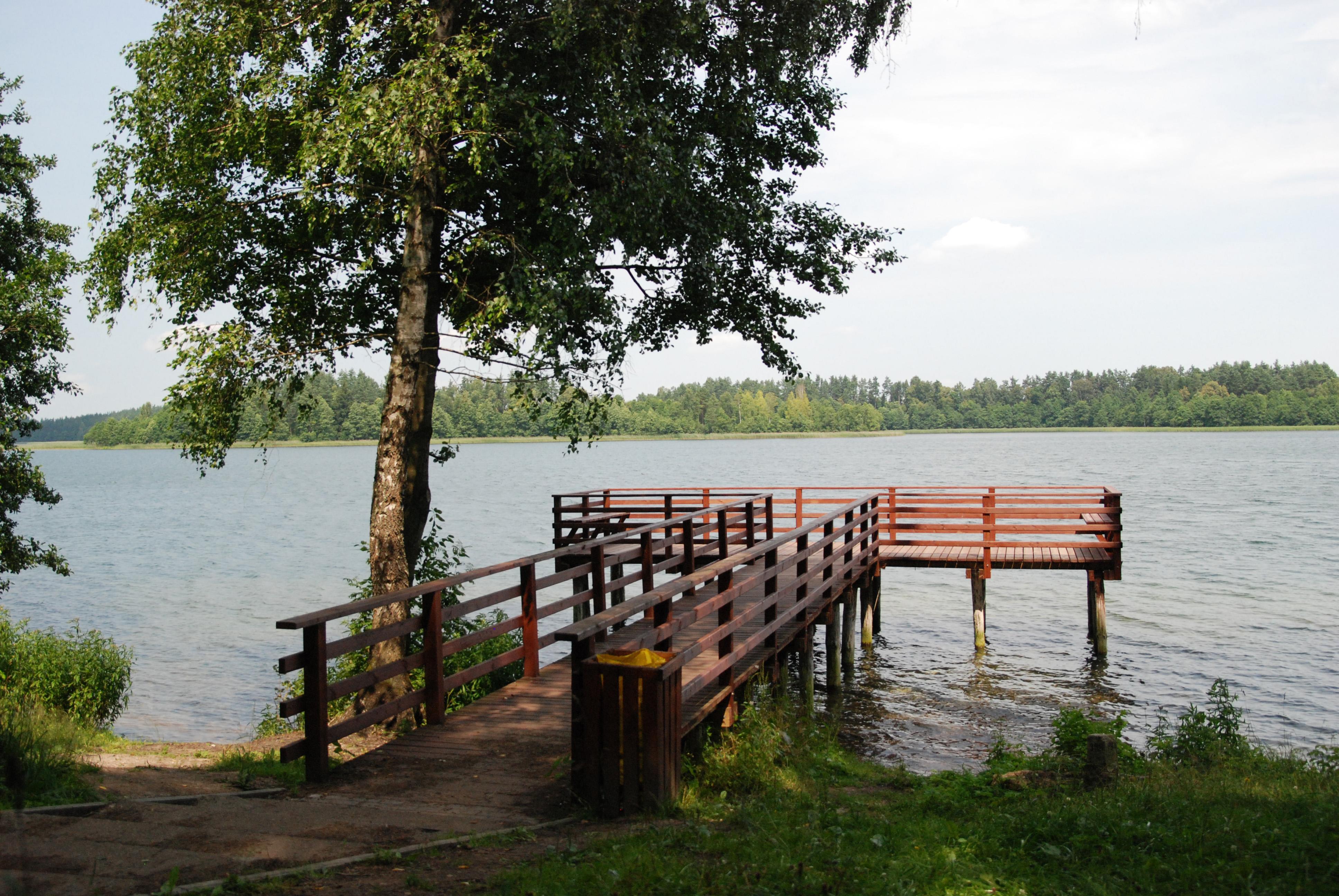 Wigry Lake, Masuria by bike