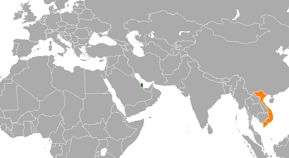 Qatar–Vietnam relations - Wikipedia on abu dhabi map, niger map, angola map, bahrain map, syria map, aruba map, sudan map, burundi map, mali map, asia map, luxembourg map, israel map, ghana map, u.a.e. map, morocco map, turkey map, cameroon map, rwanda map, jordan map, malawi map, madagascar map, kenya map, iraq map, united arab emirates map, uganda map, dubai map, persian gulf map, senegal map, balkans map, algeria map, kuwait map, ethiopia map, namibia map, japan map, middle east map, tunisia map, mozambique map, zimbabwe map,