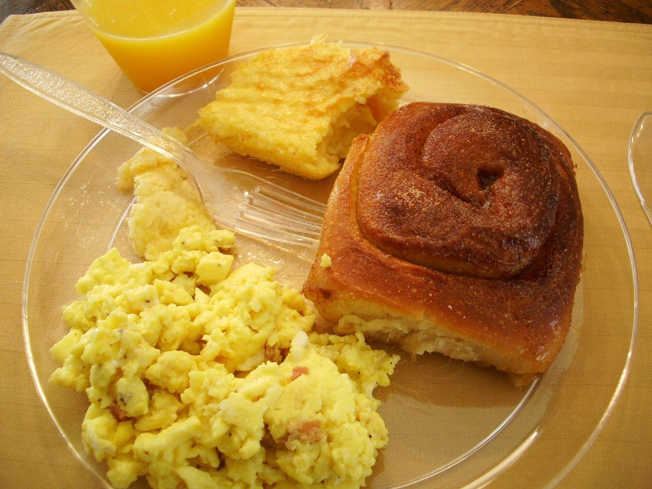 Healthy Breakfast In Hotel Room