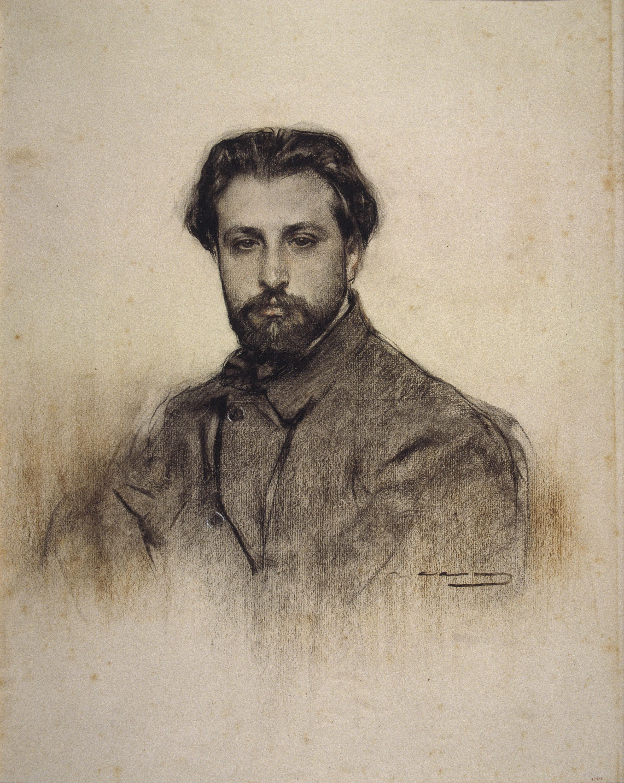 Manén visto por Ramón Casas (MNAC).