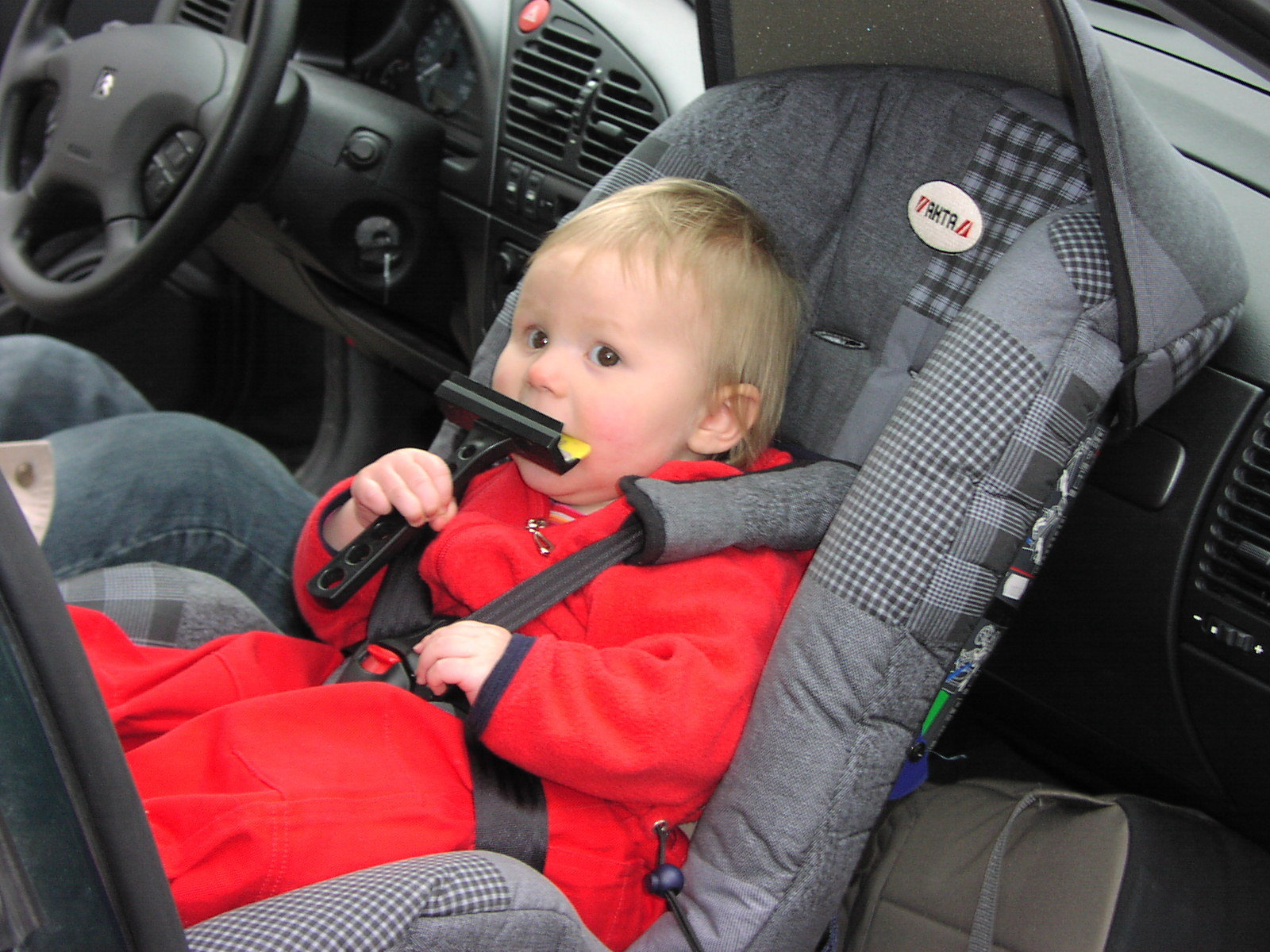 Infant Car Seat In The Front Seat