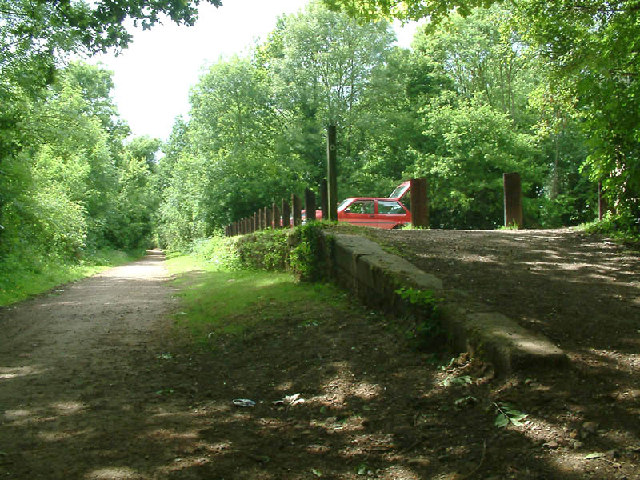 Remains of Cole Green station - geograph.org.uk - 7775