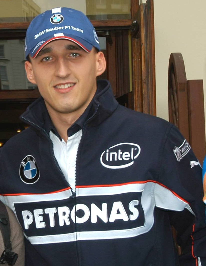 Kubica In A Renault Road Car Race