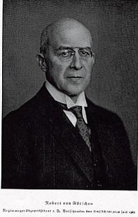 Robert Walter Richard Ernst von Görschen German noble and jurist