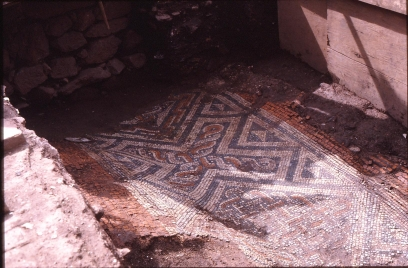 File:Roman mosaic under St Catherine's, Exeter - geograph.org.uk - 1140574.jpg