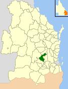 Shire of Rosalie Local government area in Queensland, Australia