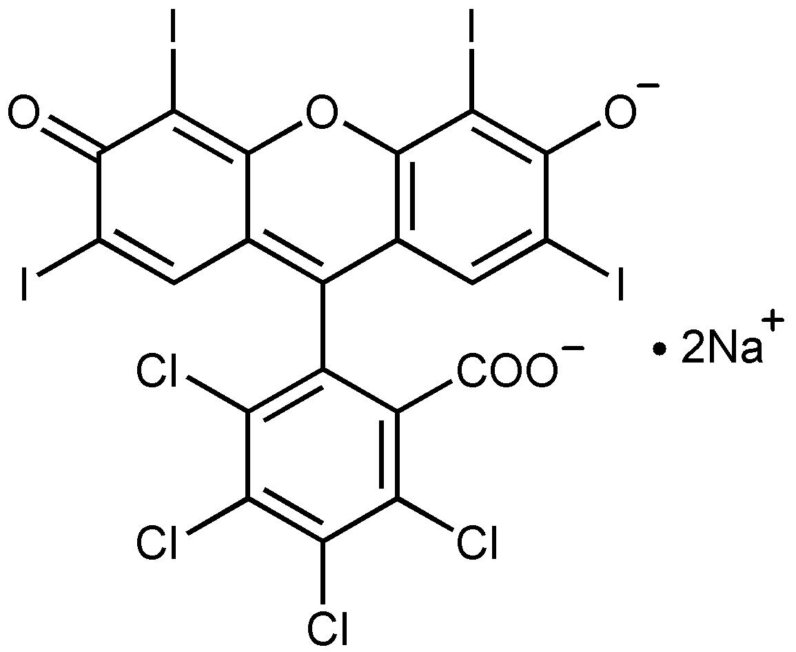 File:Rose bengal sodium salt structure.png - Wikipedia