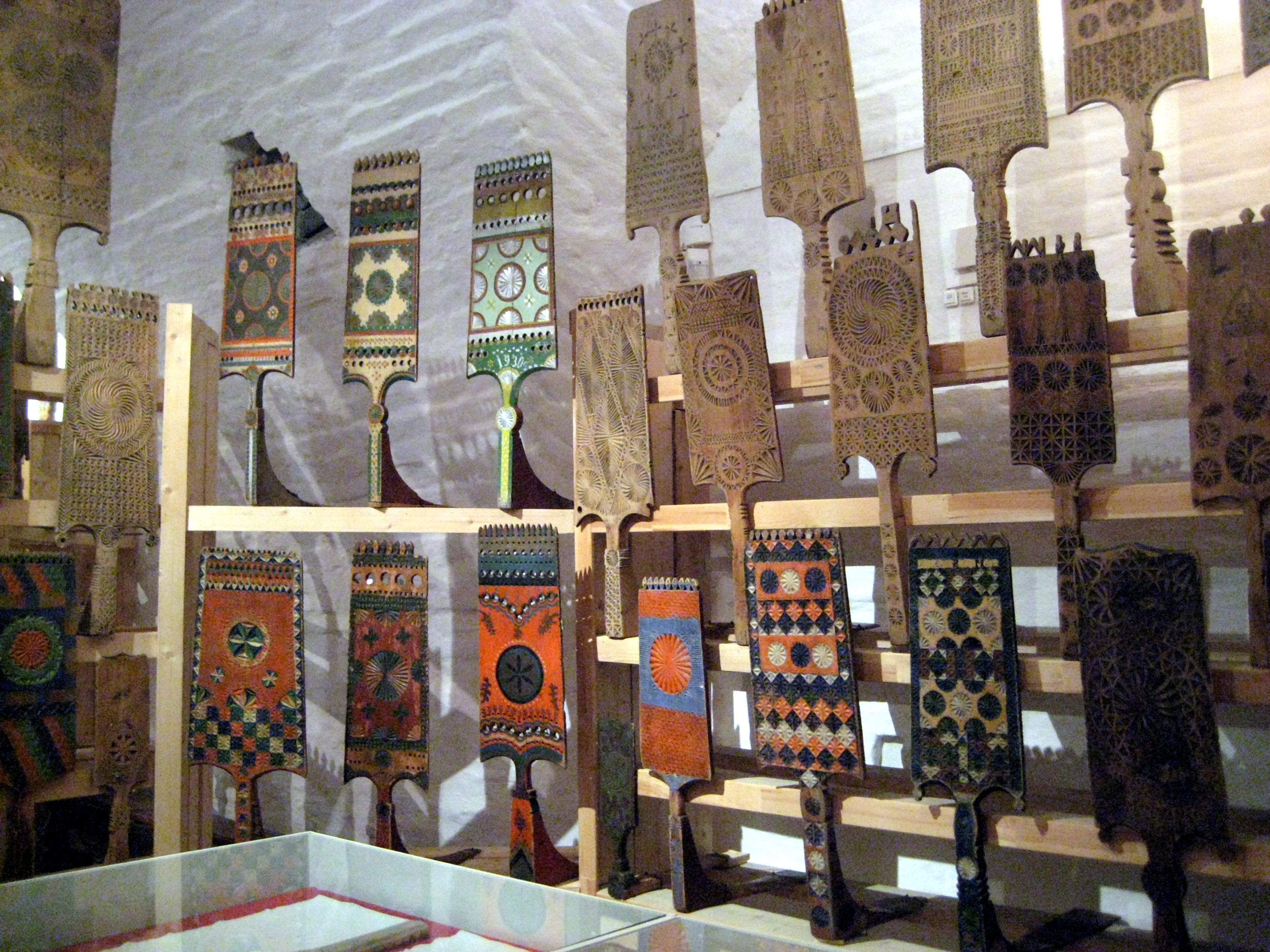 collection of Russian distaffs