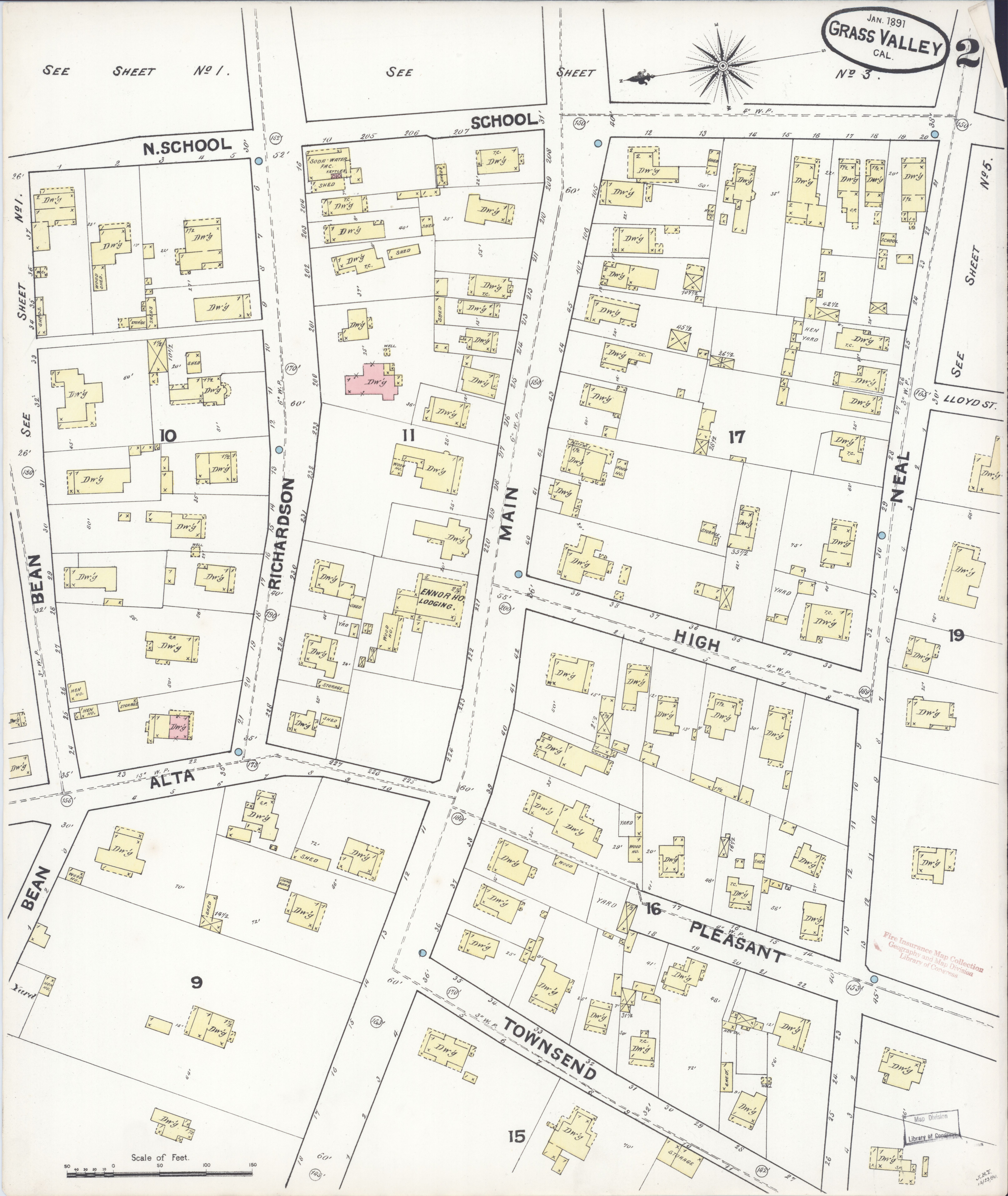 File:Sanborn Fire Insurance Map from Grass Valley, Nevada County ...