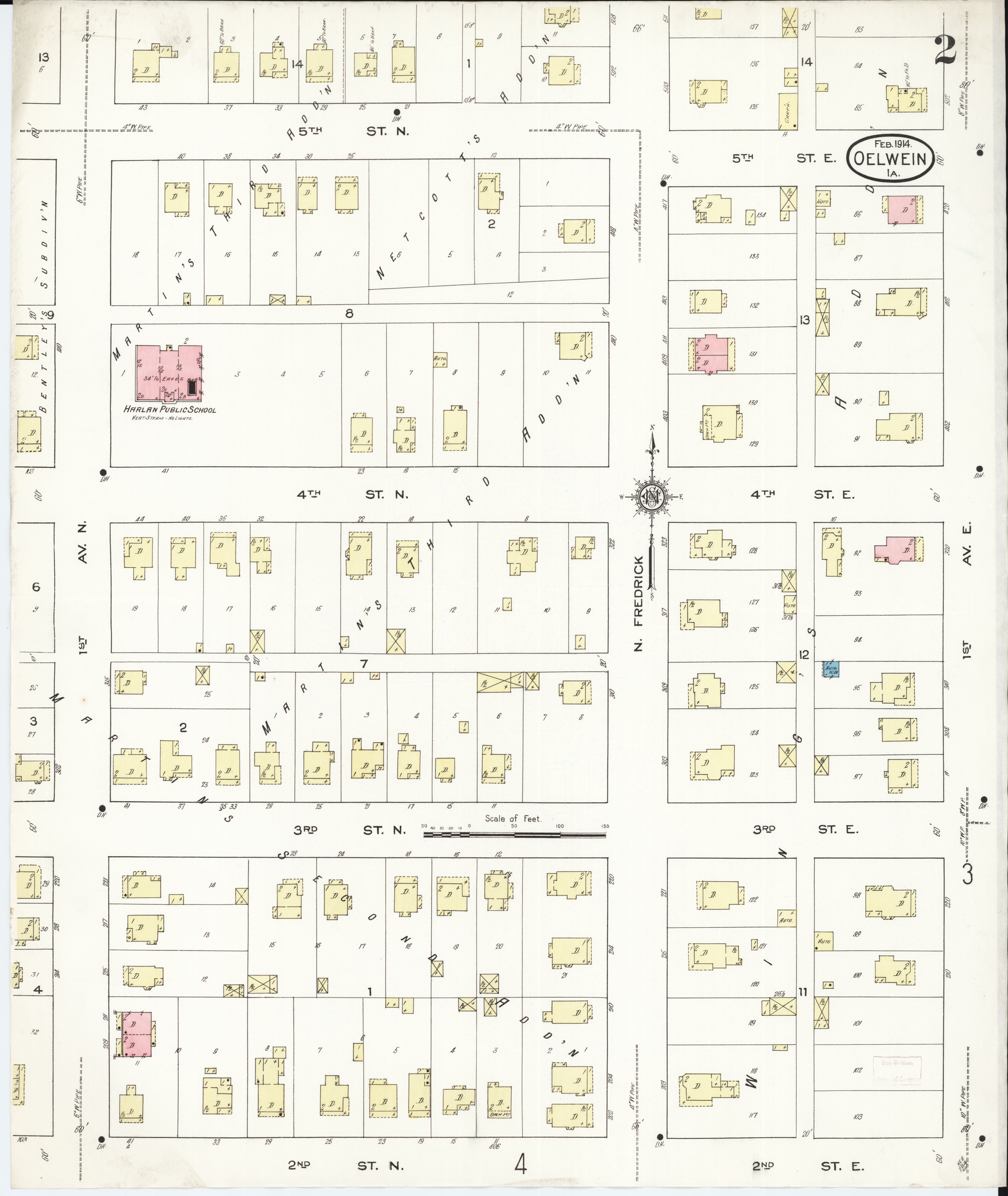 Oelwein Iowa Map.File Sanborn Fire Insurance Map From Oelwein Fayette County Iowa