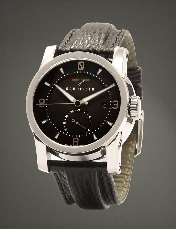 Schofield, British Watch Brands, Black Dial, Classic