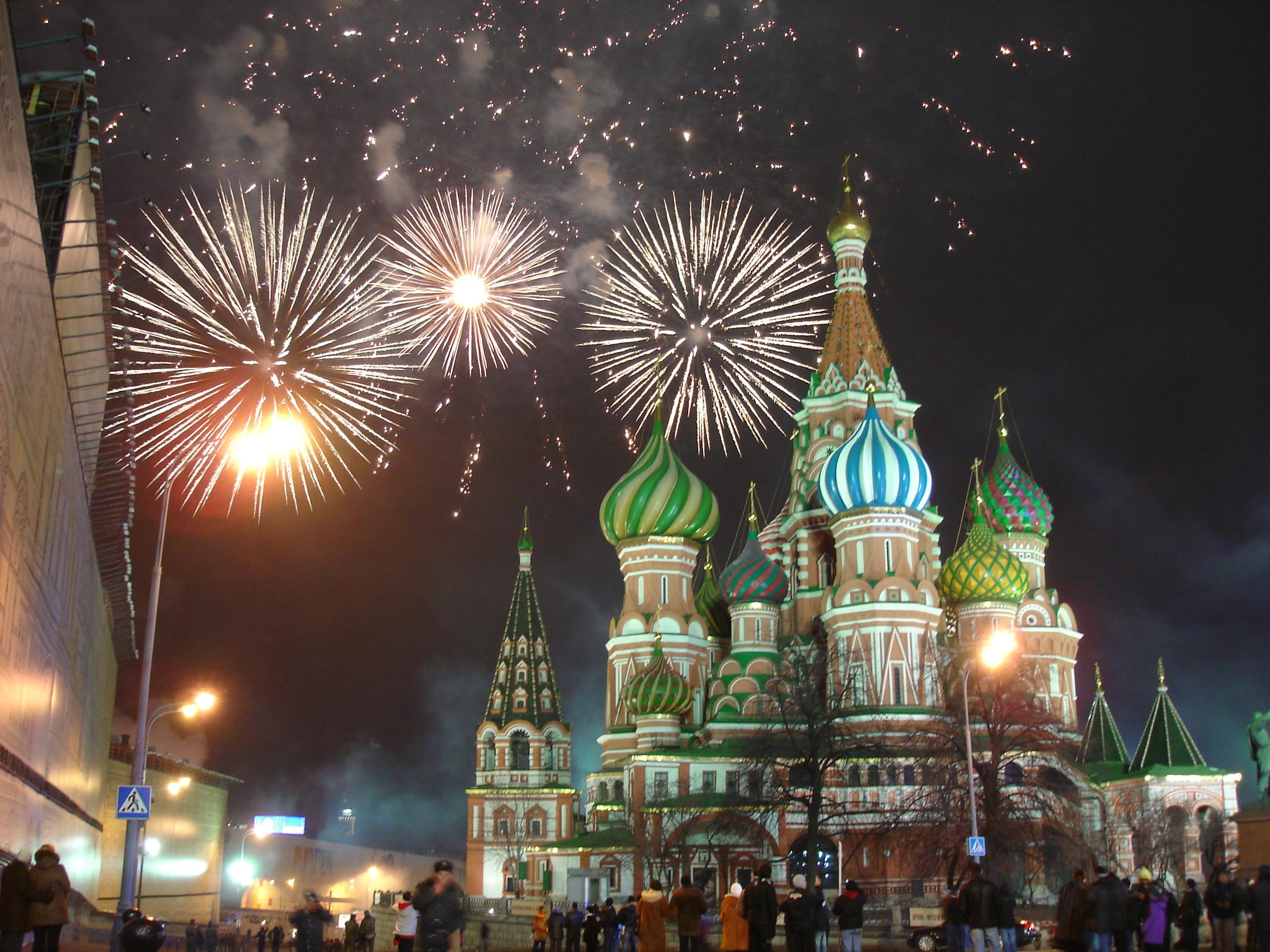モスクワ花火