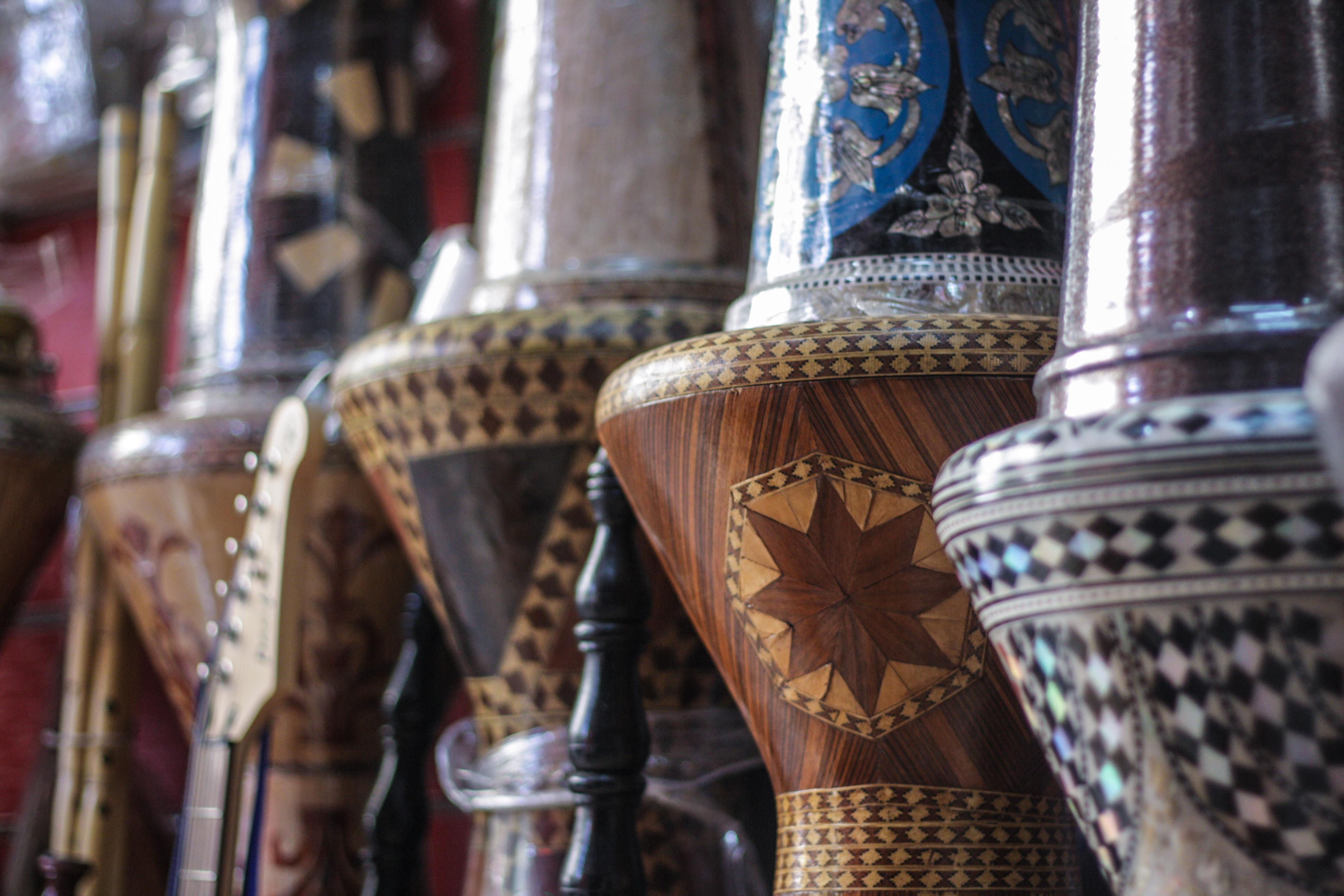 Cairo Egypt Street Foods In Musuem Of Islamic Art
