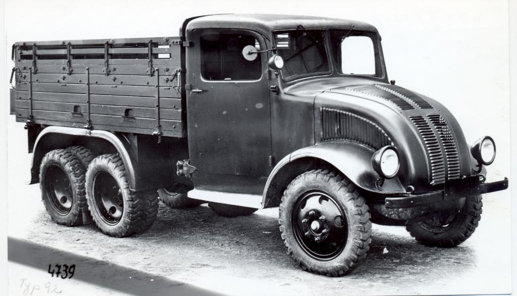 Tatra T Early Model