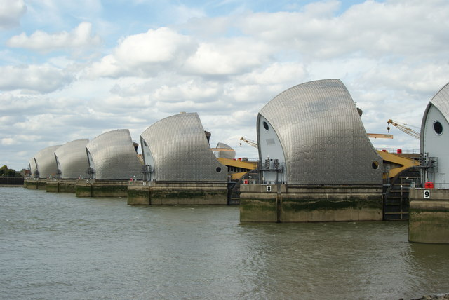Thames Barrier - geograph.org.uk - 1466865