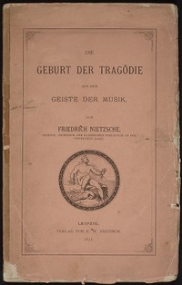 the birth of tragedy  the birth of tragedy german first edition jpg