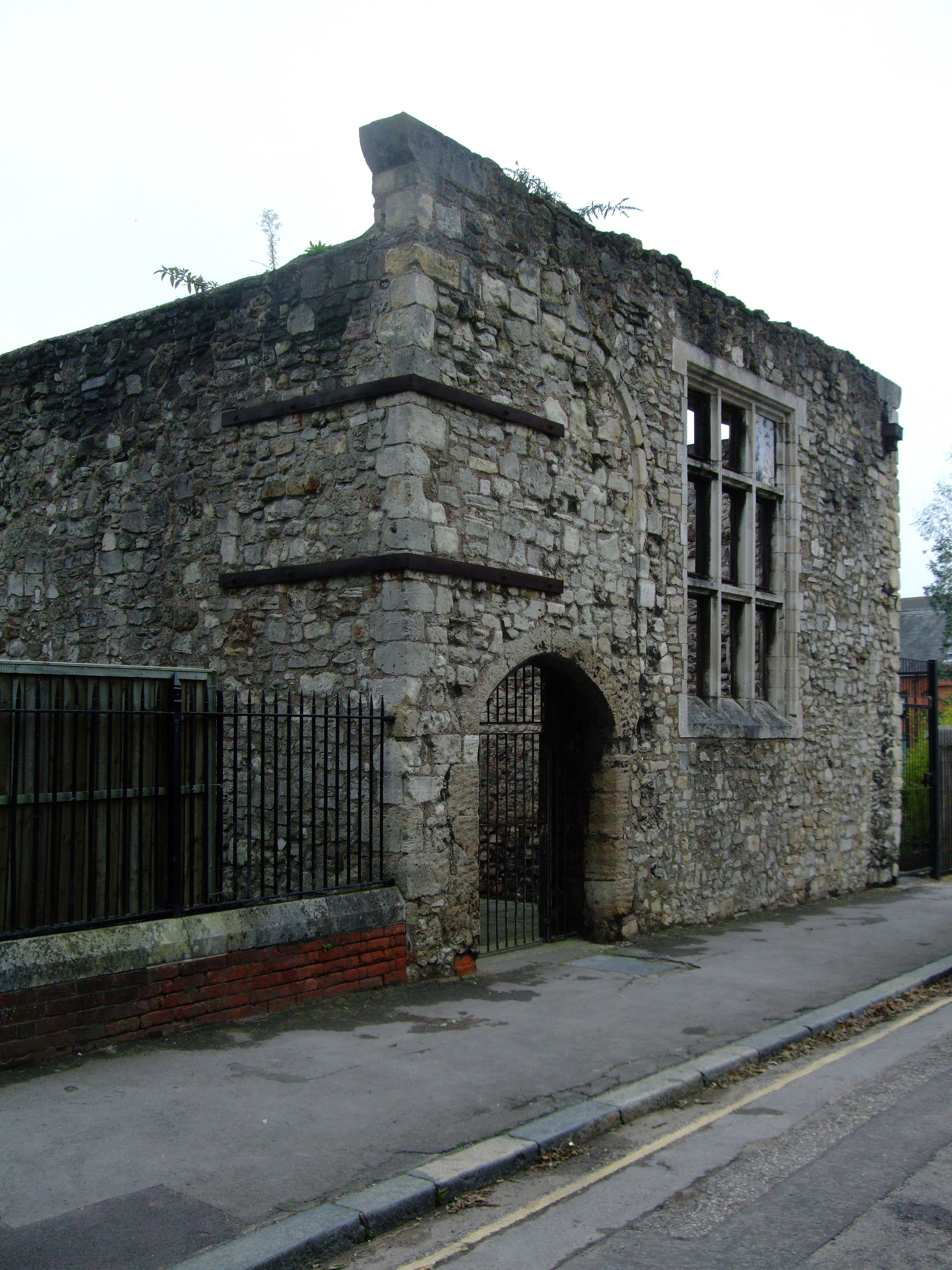 File The Weigh House Medieval Building In Southampton Jpg